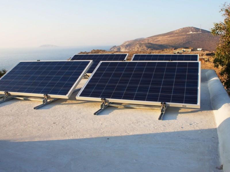 Αυτόνομο σύστημα ισχύος 0,94kW σε εξοχική κατοικία στην Νήσο Πάτμο